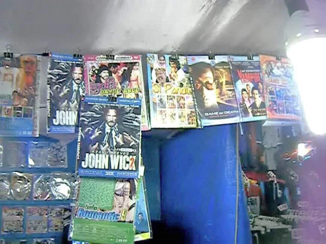 海賊盤DVD屋6