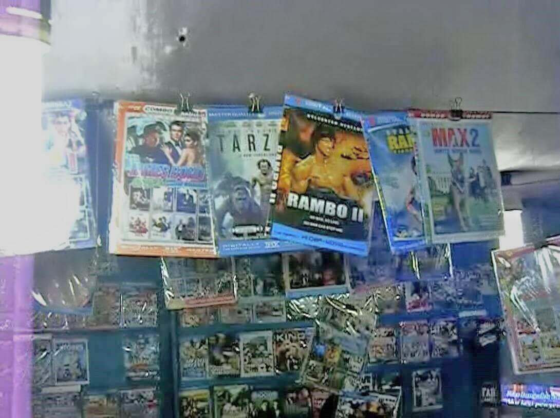 海賊盤DVD屋5