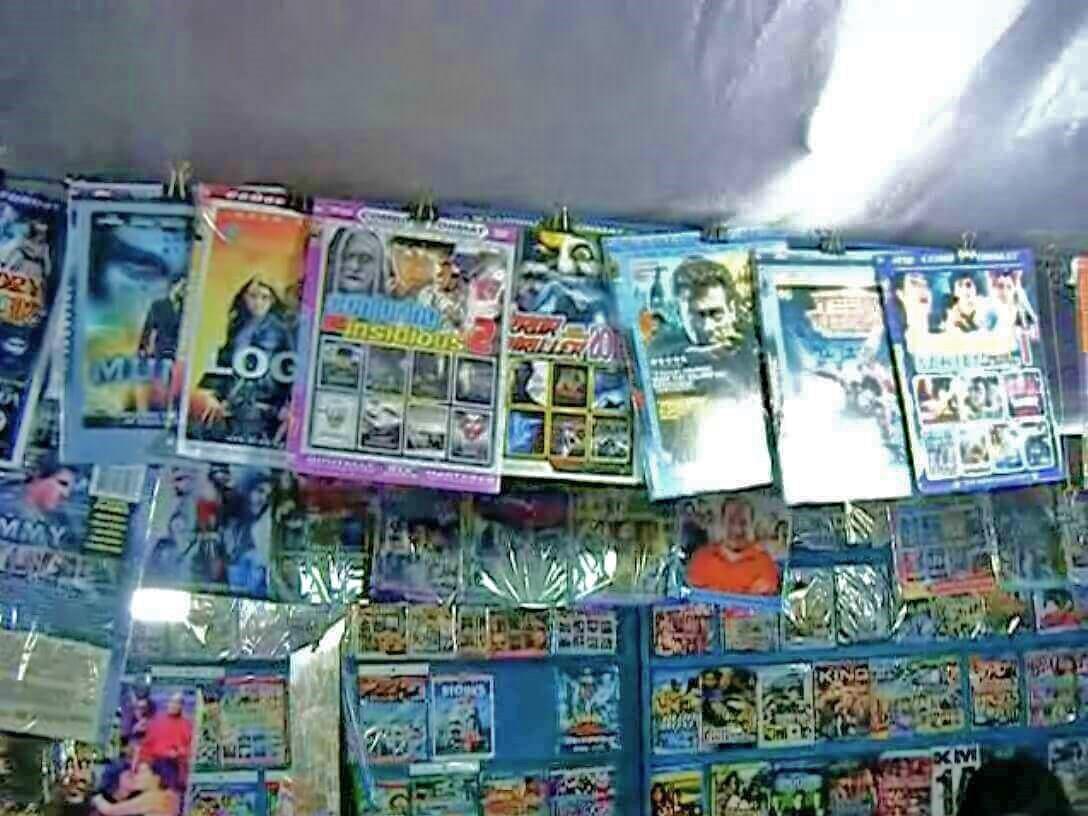 海賊盤DVD屋4