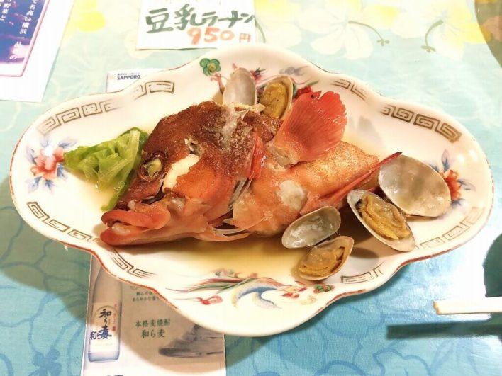 海遊食事11